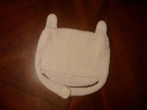 Finn the human hat.