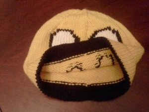 I did a turned hem on the Jake hat so that the colorwork would have a nice clean edge instead of ribbing.