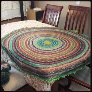 pi shawl drying