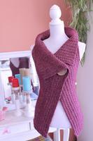 Crochet Peek-a-Boo Vest ~ Great for Beginners